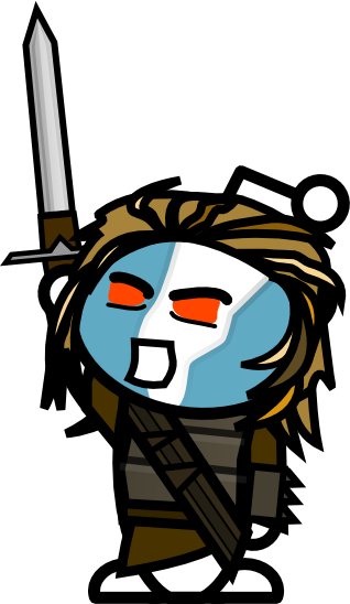 Reddit mascot ready to fight